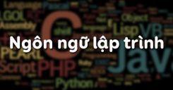 Bài 5: Ngôn ngữ lập trình