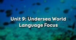 Unit 9: Undersea World - Language Focus