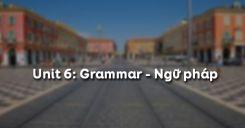 Unit 6: Grammar - Ngữ pháp