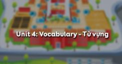 Unit 4: Vocabulary - Từ vựng