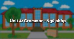 Unit 4: Grammar - Ngữ pháp