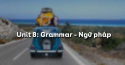 Unit 8: Grammar - Ngữ pháp