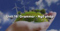 Unit 16: Grammar - Ngữ pháp
