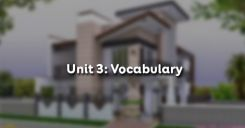 Unit 3: Vocabulary - Từ vựng