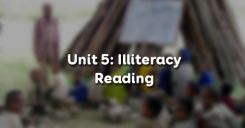 Unit 5: Illiteracy - Reading