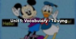 Unit 1: Vocabulary - Từ vựng