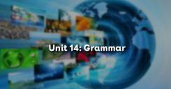 Unit 14: Grammar - Ngữ pháp