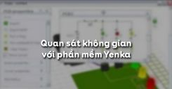Quan sát không gian với phần mềm Yenka