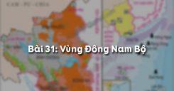 Bài 31: Vùng Đông Nam Bộ