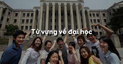 Từ vựng về đại học trong tiếng Anh