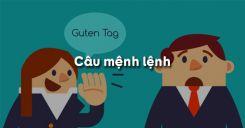 Câu mệnh lệnh trong tiếng Anh