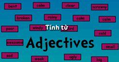 Tính từ trong tiếng Anh