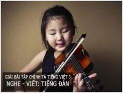 Chính tả Nghe - viết: Tiếng đàn