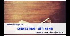 Chính tả Nghe - viết: Hà Nội