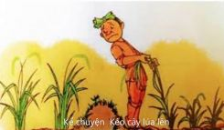 Tập làm văn Nghe - kể: Kéo cây lúa lên và Nói về thành thị, nông thôn