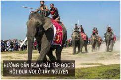 Tập đọc: Hội đua voi ở Tây Nguyên
