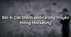 Bài 4: Các thành phần trong truyền thông Marketing