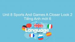 Unit 8: Sports And Games - A Closer Look 2
