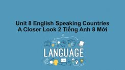 Unit 8: English Speaking Countries - A Closer Look 2