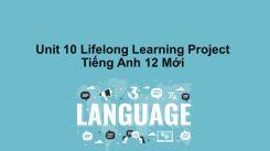 Unit 10: Lifelong Learning - Project