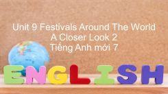 Unit 9: Festivals Around The World - A Closer Look 2