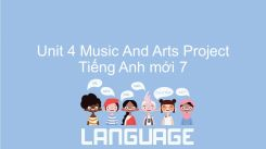 Unit 4: Music And Arts - Project