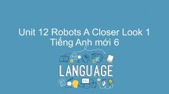 Unit 12: Robots - A Closer Look 1