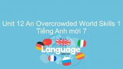Unit 12: An Overcrowded World - Skills 1