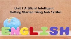 Unit 7: Artificial Intelligent - Getting Started
