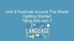 Unit 9: Festivals Around The World - Getting Started