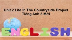 Unit 2: Life In The Countryside - Project