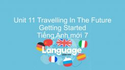 Unit 11: Travelling In The Future - Getting Started