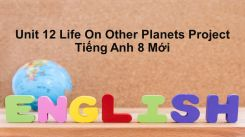Unit 12: Life On Other Planets - Project