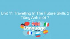 Unit 11: Travelling In The Future - Skills 2