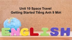 Unit 10: Space Travel - Getting Started