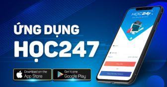 Giới thiệu ứng dụng App HỌC247