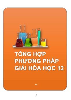 16 phương pháp giải bài tập Hóa học 12