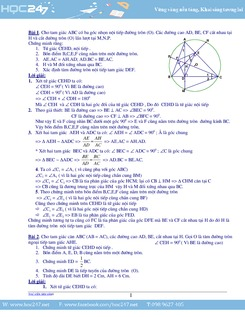 80 bài tập hình học có lời giải