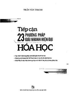 23 phương pháp giải nhanh môn Hóa học - Trần Văn Thanh
