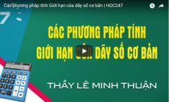 Chuyên đề giới hạn của dãy số - Huỳnh Ái Hằng