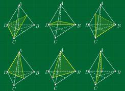 Mặt phẳng đối xứng của một số khối đa diện thường gặp