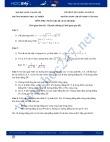Đề thi tuyển sinh lớp 10 môn Toán trường THPT Chuyên KHTN Hà Nội