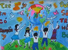 Soạn văn 9 Tuyên bố thế giới về sự sống còn, quyền được bảo vệ và phát triển của trẻ em tóm tắt