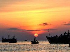 Soạn văn 9 Đoàn thuyền đánh cá tóm tắt