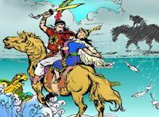 Soạn văn 10 Truyện An Dương Vương và Mị Châu - Trọng Thủy tóm tắt