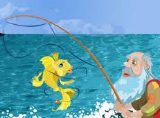 Soạn văn 6 Ông lão đánh cá và con cá vàng tóm tắt