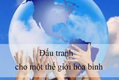 Đấu tranh cho một thế giới hòa bình - Ngữ văn 9