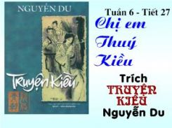 Chị em Thúy Kiều - Ngữ văn 9