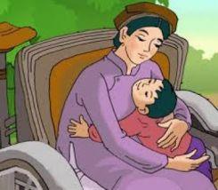 Trong lòng mẹ - Ngữ văn 8