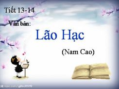 Lão Hạc - Ngữ văn 8